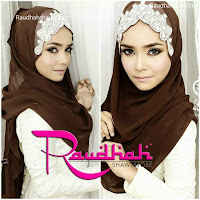 SHAWL RAUDHAH AVAILABLE HERE !