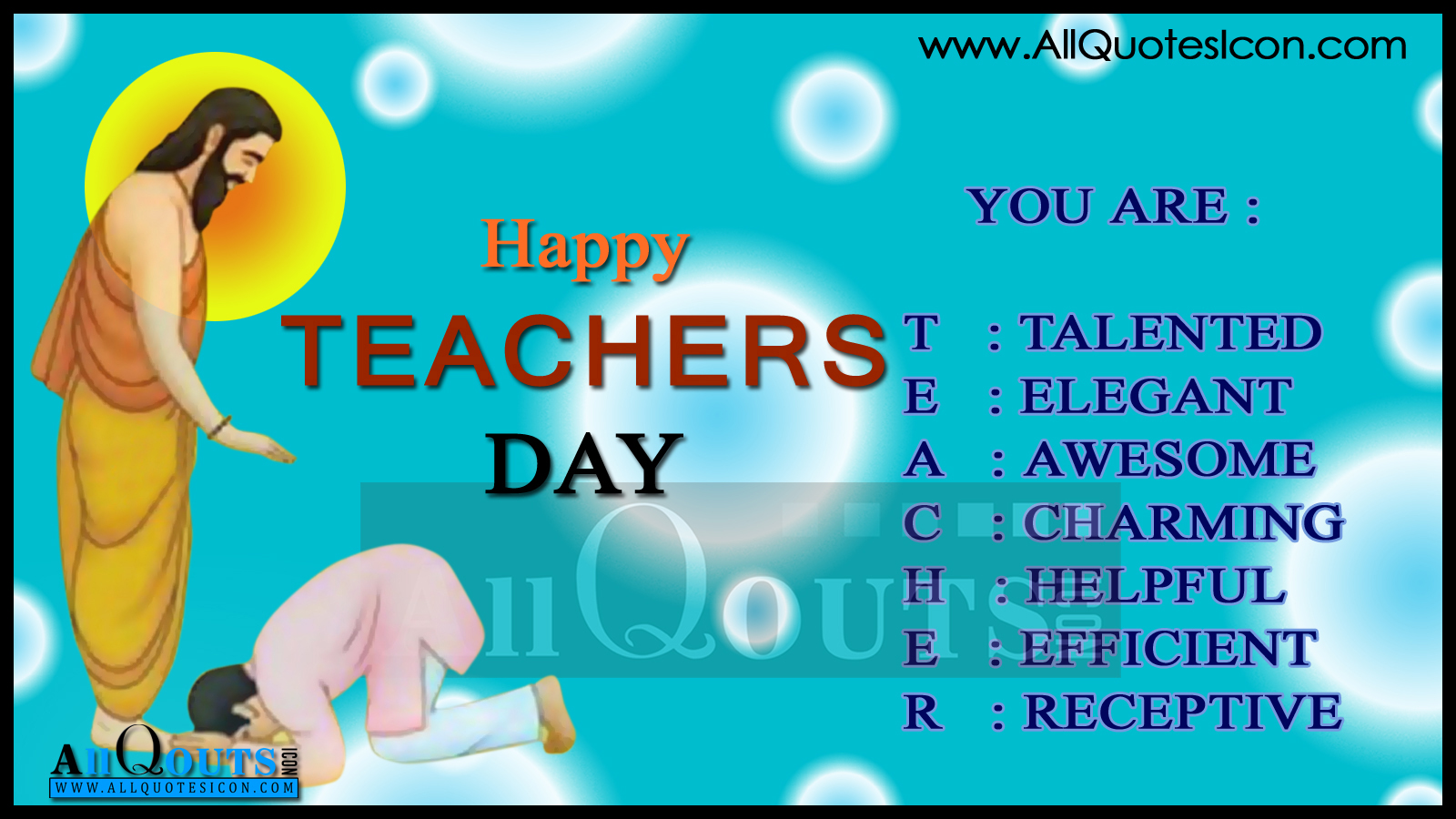 short essay for teachers day
