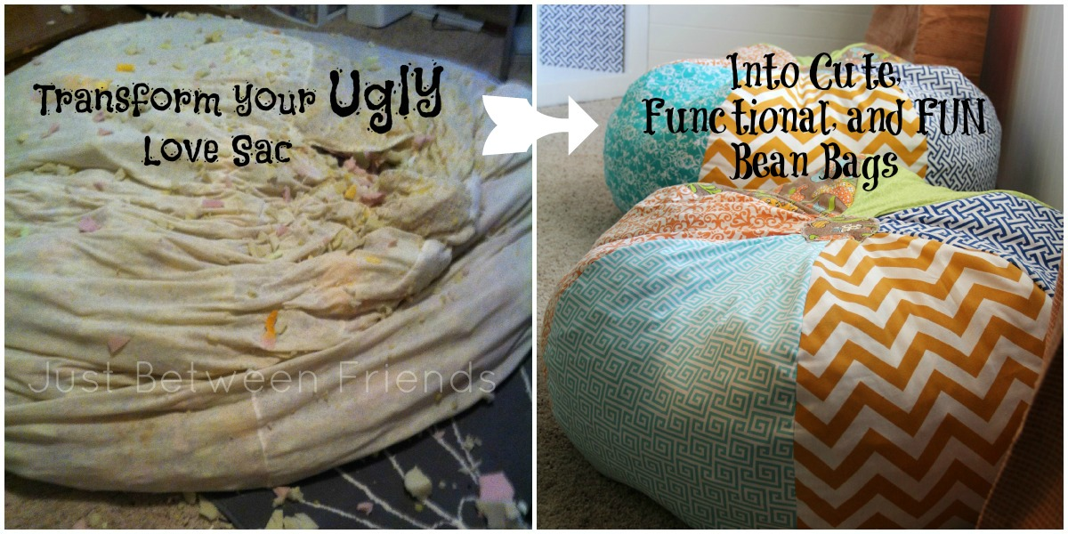 Simple DIY Bean Bag Tutorial