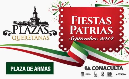Programa Fiestas Patrias Querétaro 2014