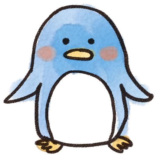 ペンギンのイラスト(動物)