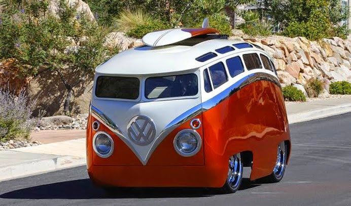 extremely modified and customized vw samba bus vw bus. Black Bedroom Furniture Sets. Home Design Ideas