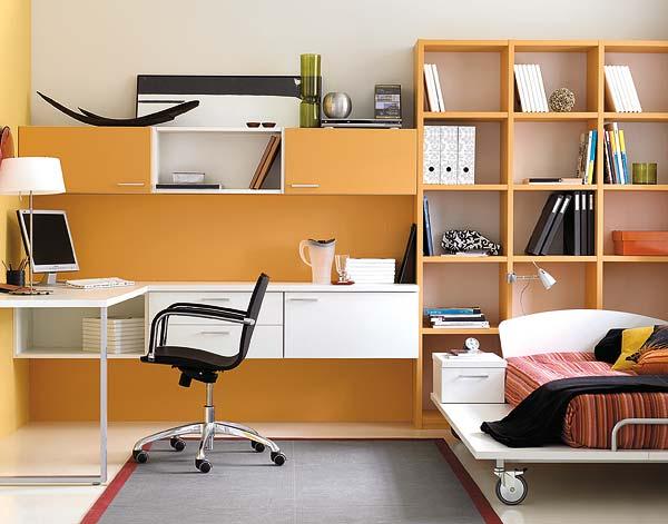 Decoracion actual de moda muebles modulares para el for Habitaciones modulares juveniles