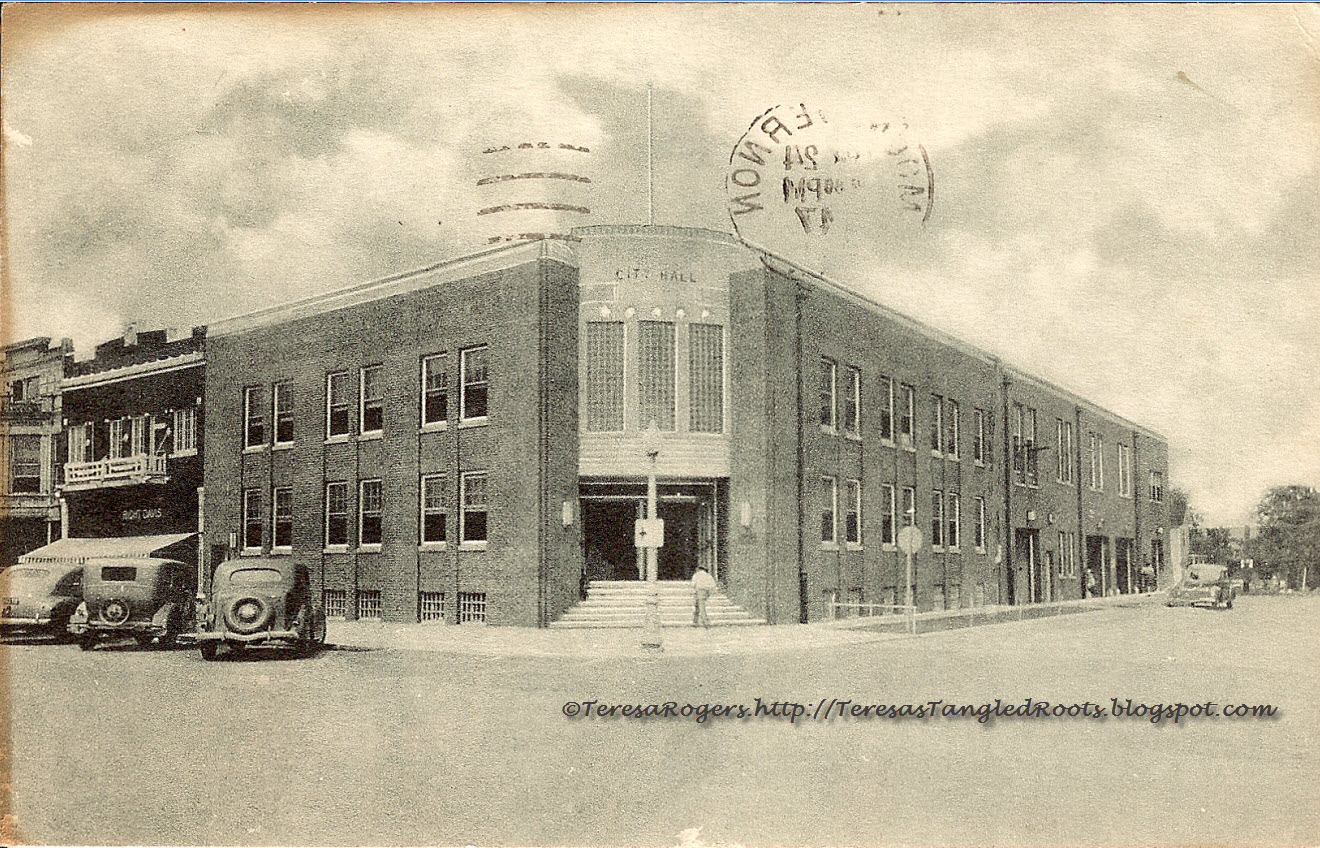 Illinois jefferson county ina - Those Places Thursday Mt Vernon Illinois City Hall Ca 1940 S