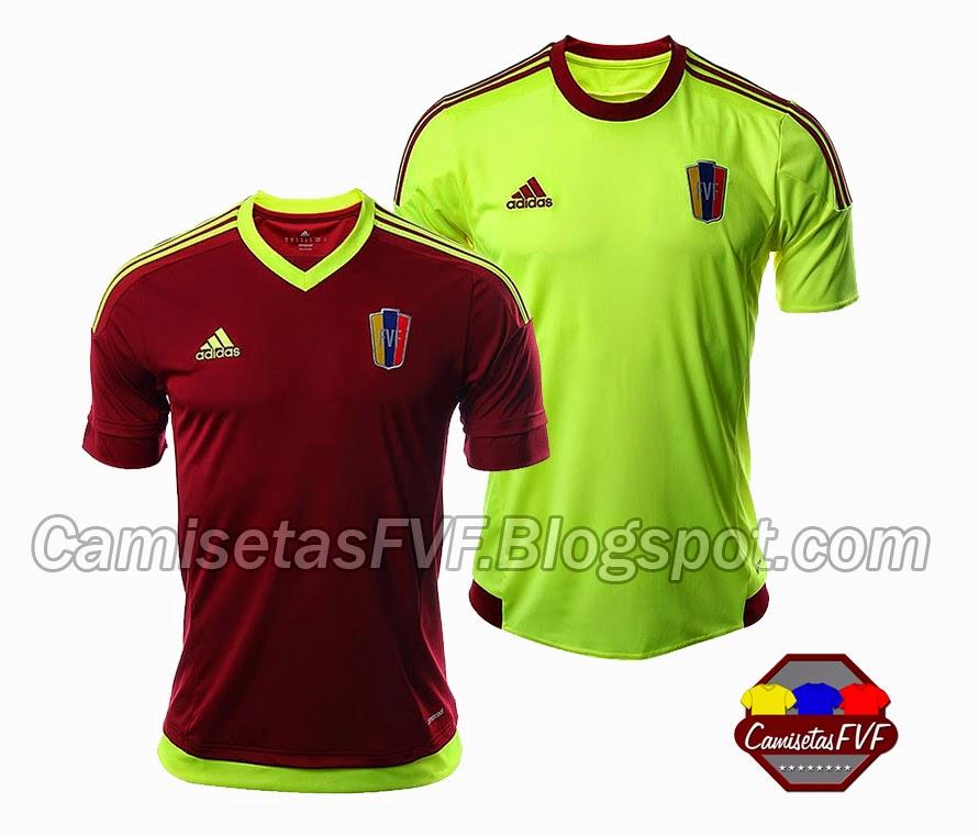8ab24fae28a72 A CamisetasFVF han llegado mas imágenes oficiales de las nuevas equipaciones  adidas que la selección Vinotinto utilizara en su participación por la Copa  ...