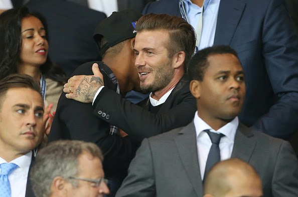 Jay Z and David Beckham
