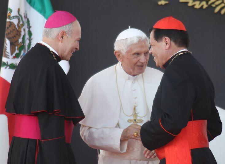 Norberto rivera tiene la marca de la Bestia ¡el no es católico!