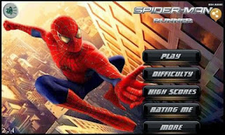 Screenshots of the Spiderman Runner for Android tablet, phone.