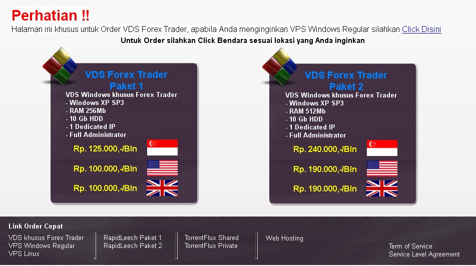 Vps murah untuk forex
