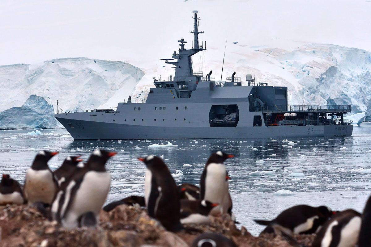 Luego de 94 días de operación y 14.560 millas recorridas arriba a Cartagena el Patrullero Oceánico ARC 20 de Julio de la Armada de Colombia