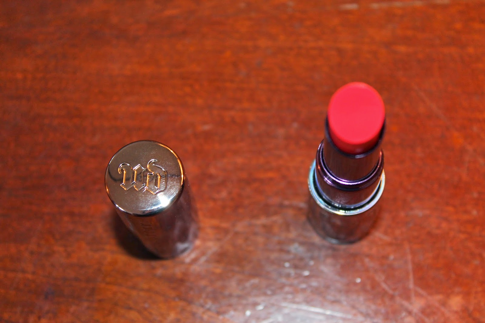 Urban Decay Lipstick Blog Review