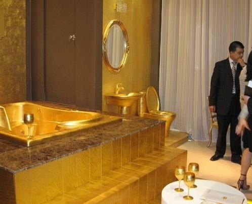 Cosas y objetos de oro venezblogger for Bano de oro el yunque
