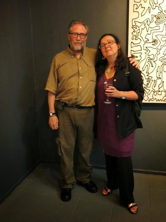Con la artista Visual Victoria Mataran