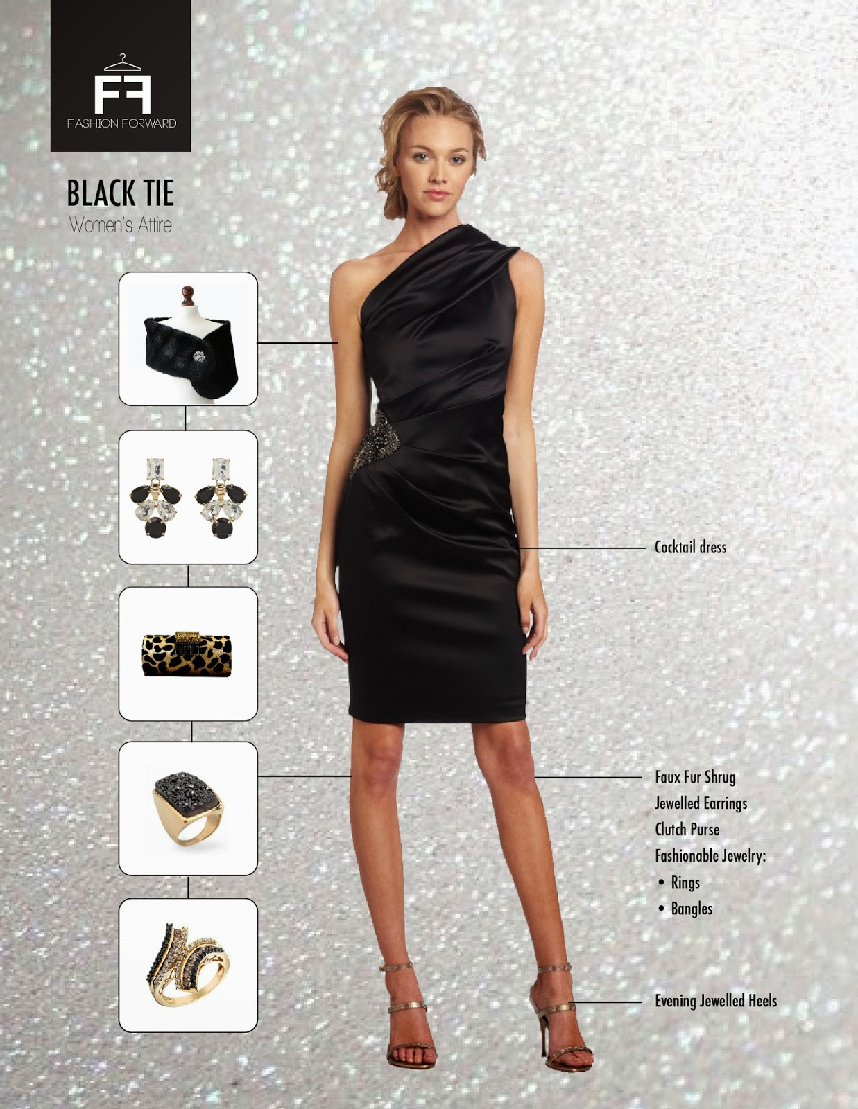 Dress codes for evening events near