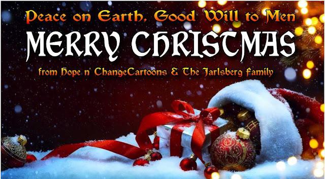 obama, obama jokes, political, humor, cartoon, conservative, hope n' change, hope and change, stilton jarlsberg, christmas, 2015