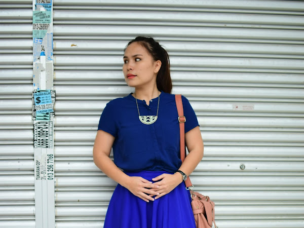 Outfit Diary : The shade of blue