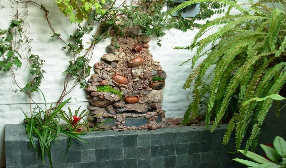 Dise o de cascadas en apartamentos cascadas y jardines for Cascadas de piedra para jardin