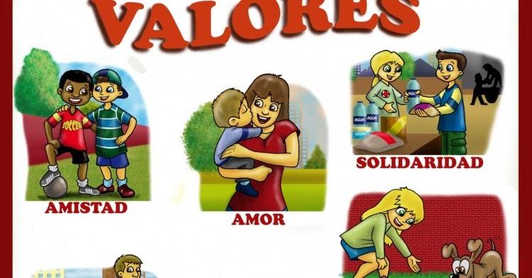 """""""pk MUNDO"""" : VALORES Y SU IMPORTANCIA (CUENTOS Y VÍDEOS)"""