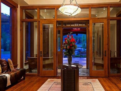 Modern homes stylish front door ideas new home designs for Modern front door ideas