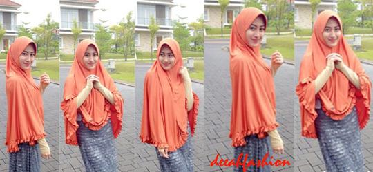 Gamis Jilbab Besar Baju Muslim Populer