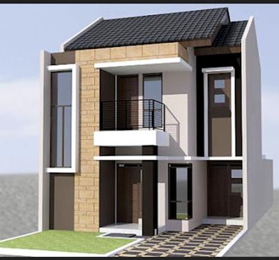 Biaya Membangun Rumah Minimalis 2 Lantai Type 45