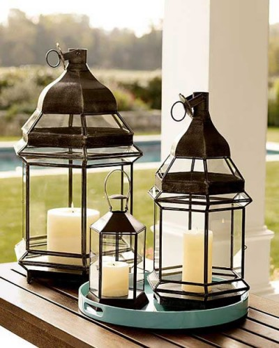 Attractive Outdoor Candle Lanterns Looks Extremely Beautiful And Suit Almost