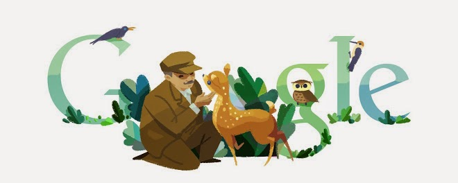Tadas Ivanauskas' 132nd Birthday Google Doodle