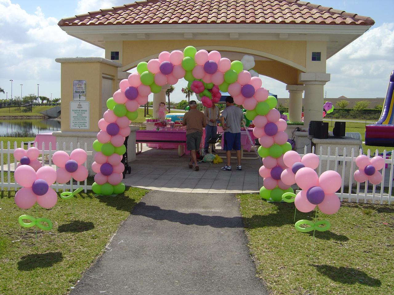 Balloon Designs Pictures: Balloon Arch Frames