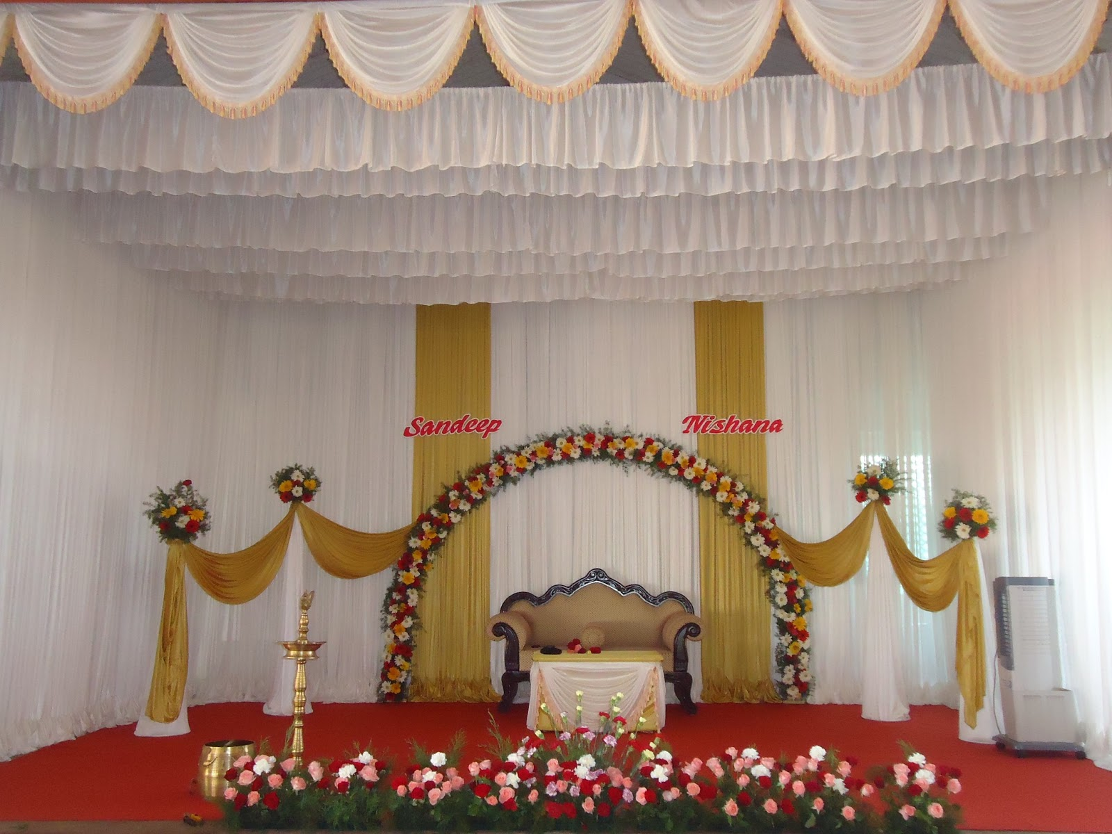Krishna decorations kalyana mandapam for Decoration images