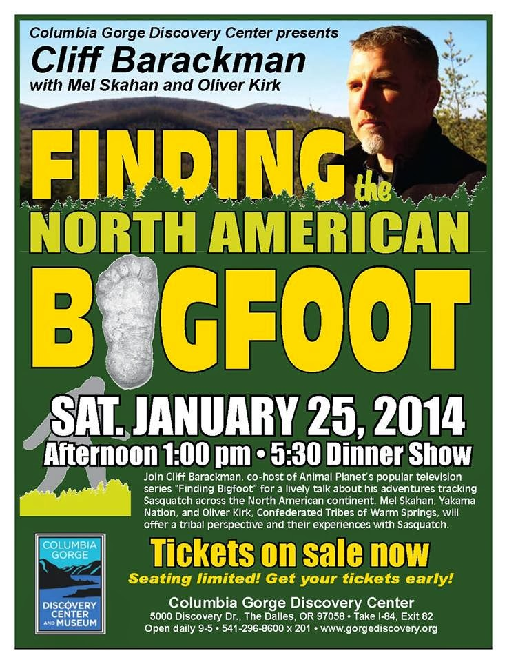 Cliff Barackman Finding Bigfoot