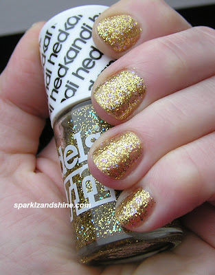 Modelsown disco heaven hed kandi swatch models own nails