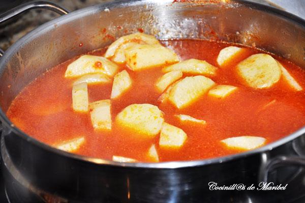 Cocinillas de maribel caldo de patatas con bacalao - Patatas en caldo con bacalao ...