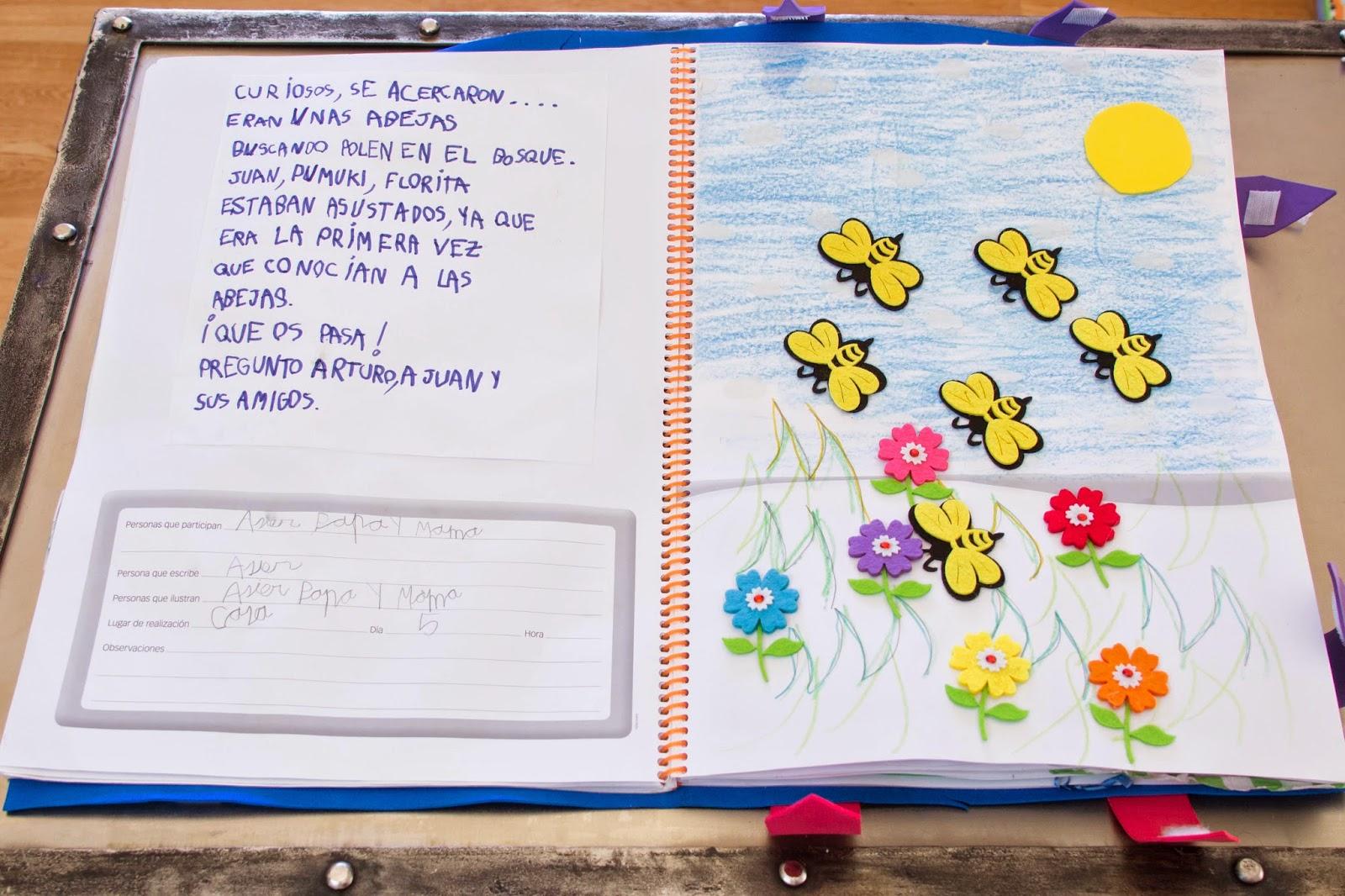 Blog de patri educaci n infantil nuestro libro viajero - Ideas libro viajero infantil ...