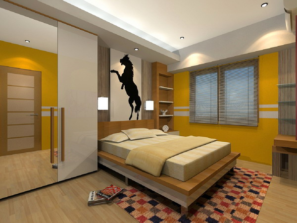 bedroom ideas by color