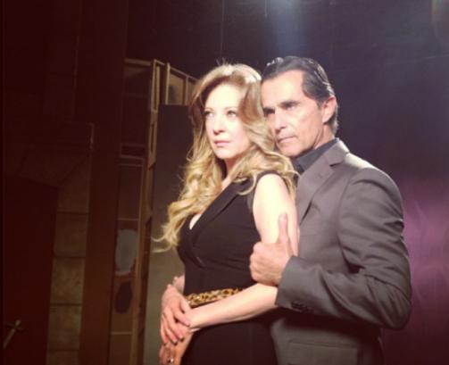... de los actores de la nueva telenovela de TV Azteca, Vivir a destiempo