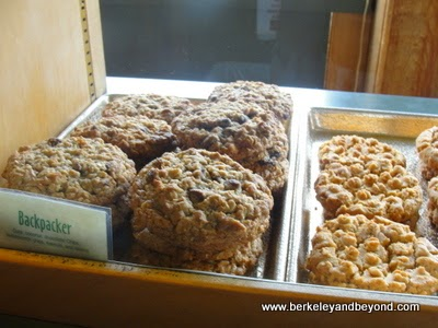 Backpacker cookie at Mendocino Cookie Company In Fort Bragg, Californi