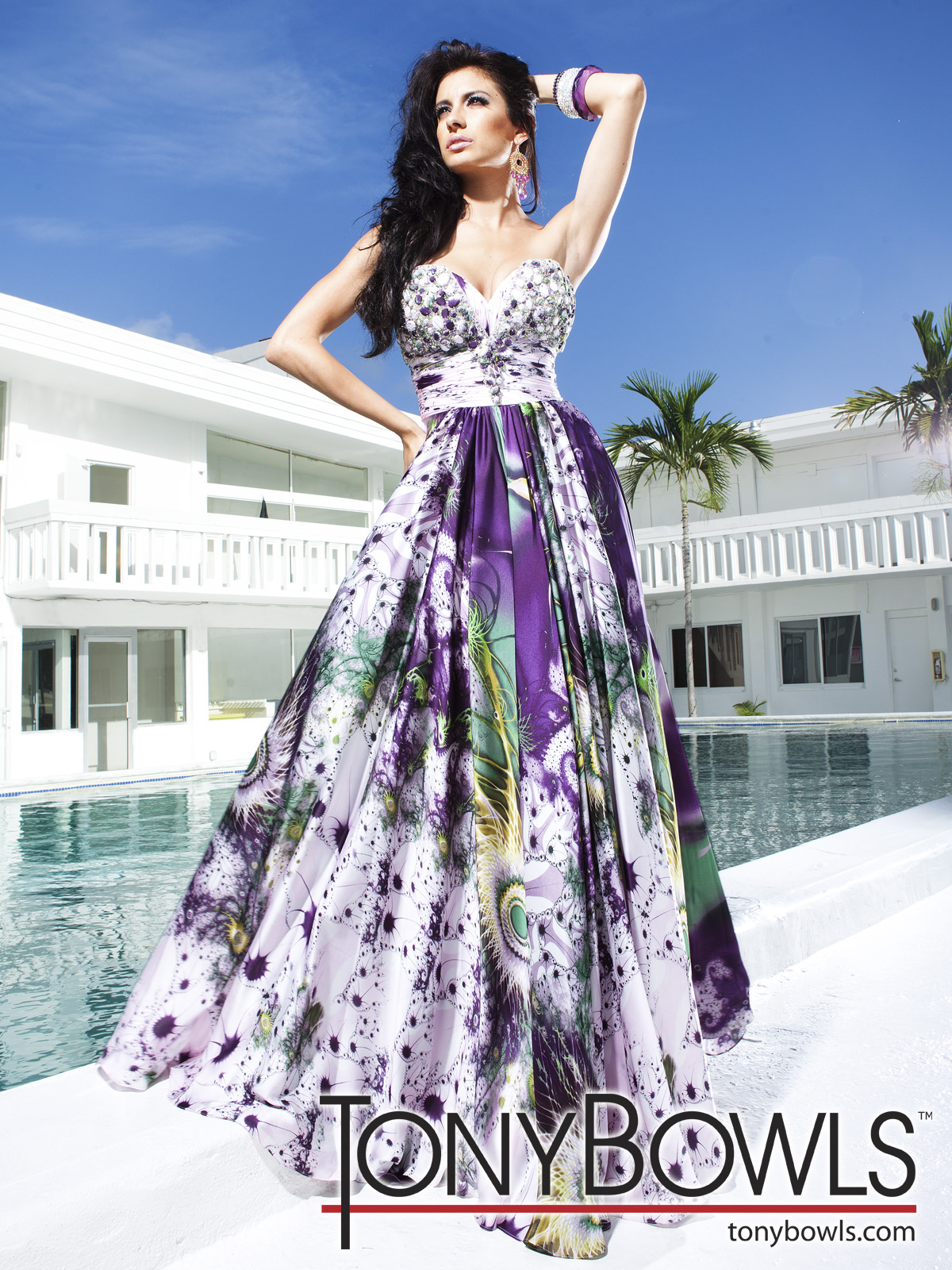 trend fashion dresses a line printed evening dresses by