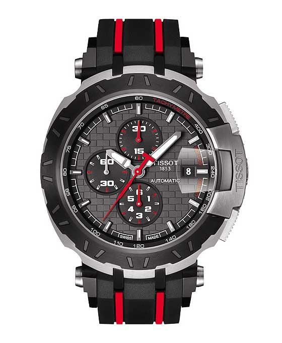 Швейцарский бренд Tissot представил новые часы T-Race MotoGP 2015. компании Tissot остаются