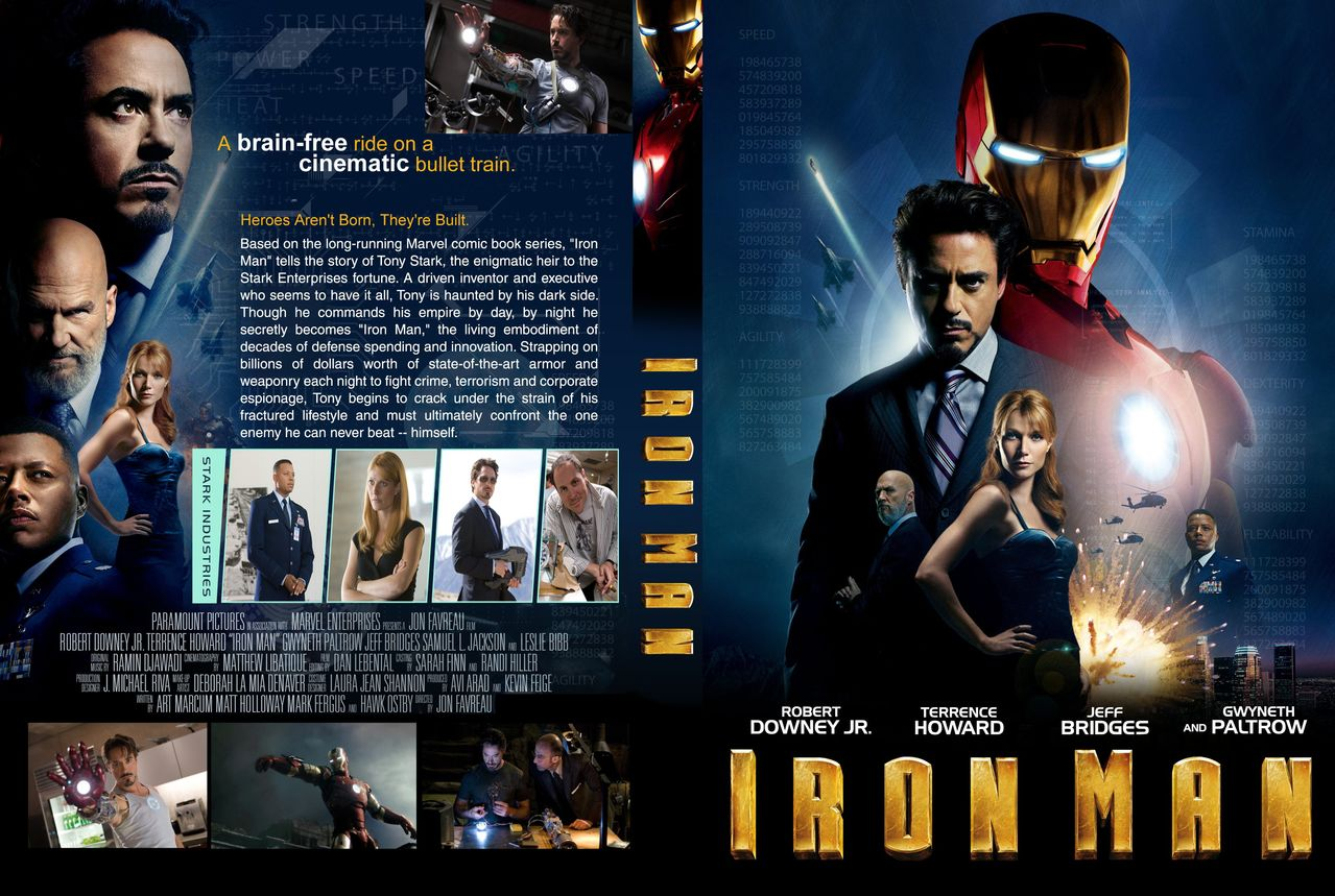 Iron Man 1 (2008) BRRip (Dual Audio) Hindi-english Full Movie Download