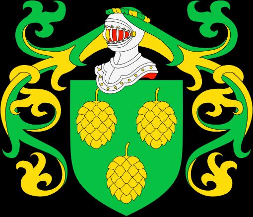 El Pinar del Hierro Spain  City pictures : Escudo de armas de Aran du Pin. De sinople, tres piñas de oro.