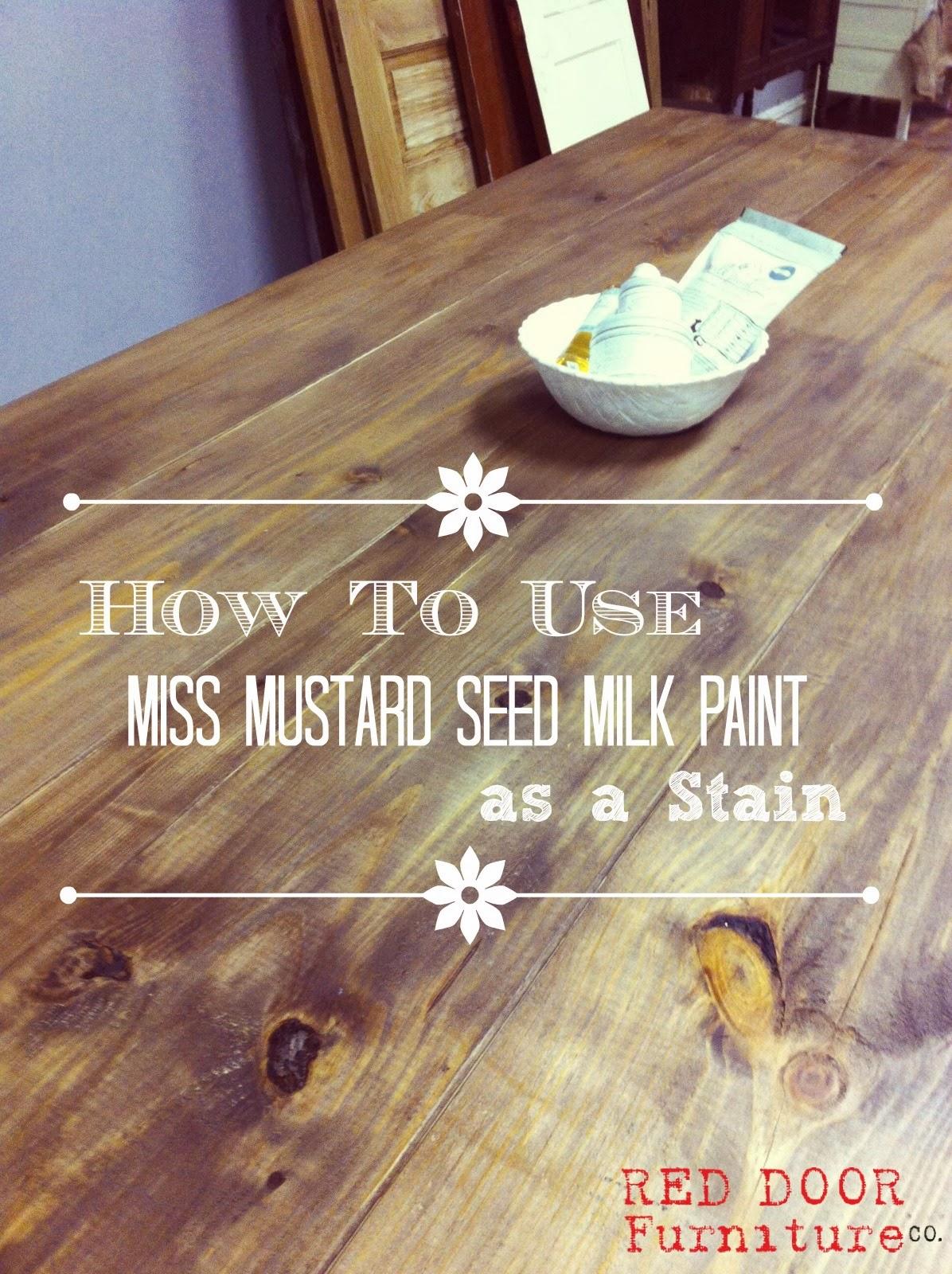 Milk Paint Stain