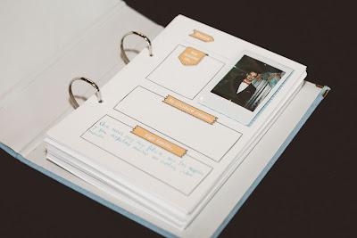 libro firmas polaroid