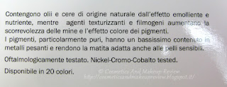 Labo Make-Up - Extra Color Pencils - descrizione azienda 2