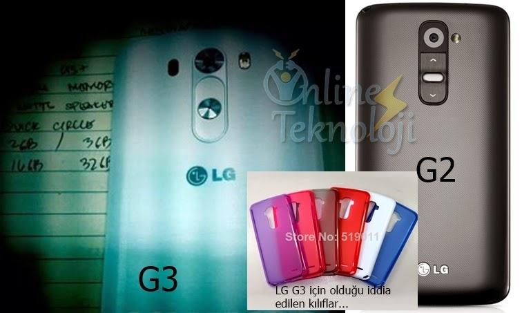 lg g3 fotoğrafı sızdı lg g2 karşılaştırmalı