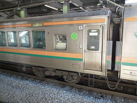 高崎線 普通 赤羽行き 211系グリーン車
