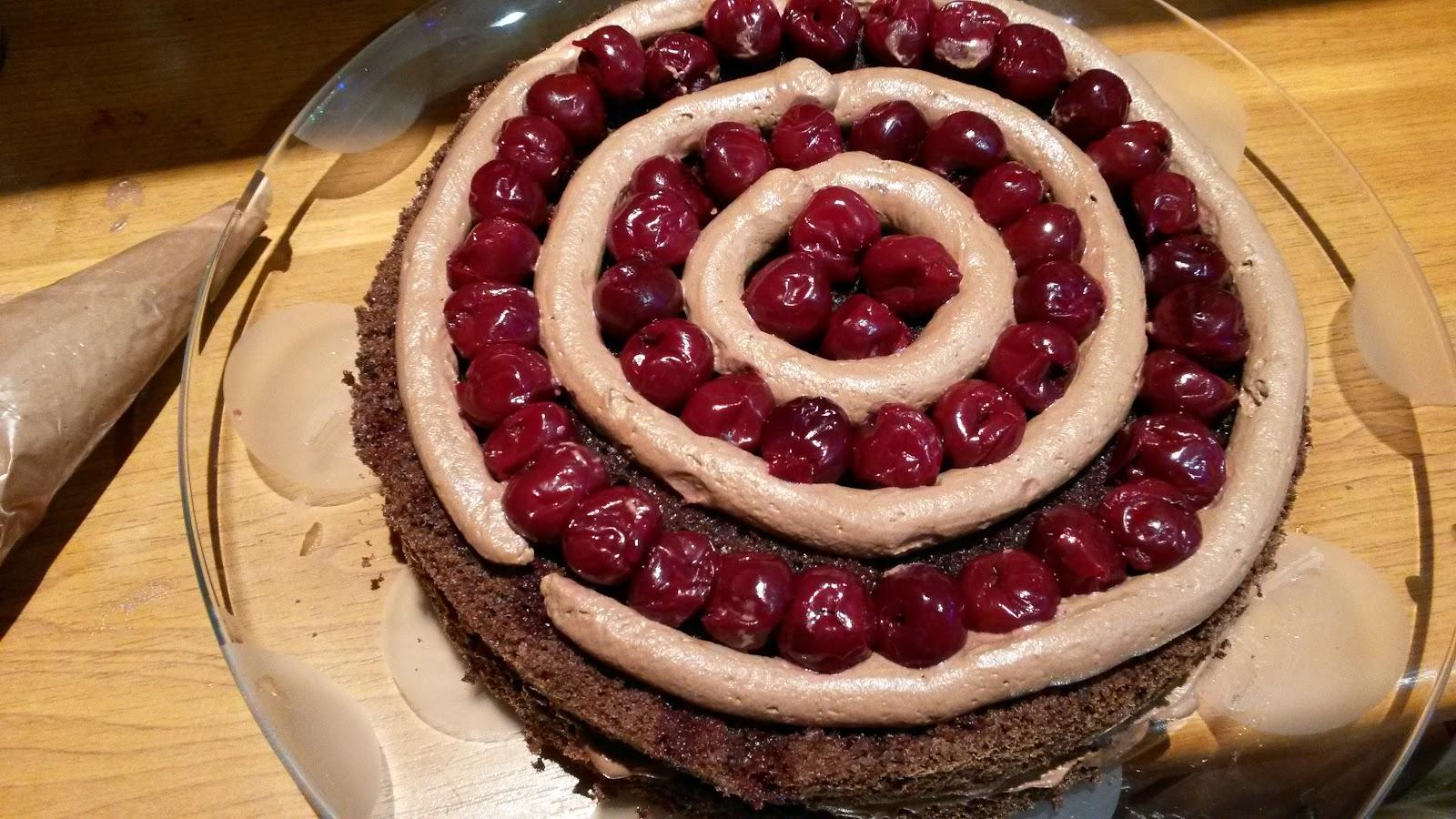 Рецепт торта шварцвальдский вишневый пошаговый