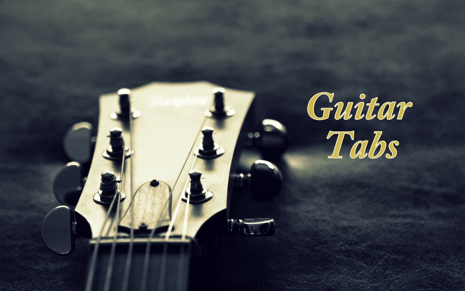 Guitar Tabs on single string for beginners