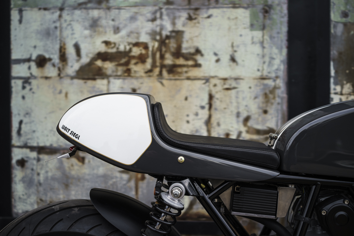 Ducati Cafe Racer | Leggero Cafe racer | Walt Siegl | Ducati 900cc Motor