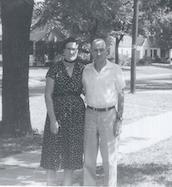 Grandpa Heber Monroe Ganus and Grandma Hazel (nee Mickelsen)