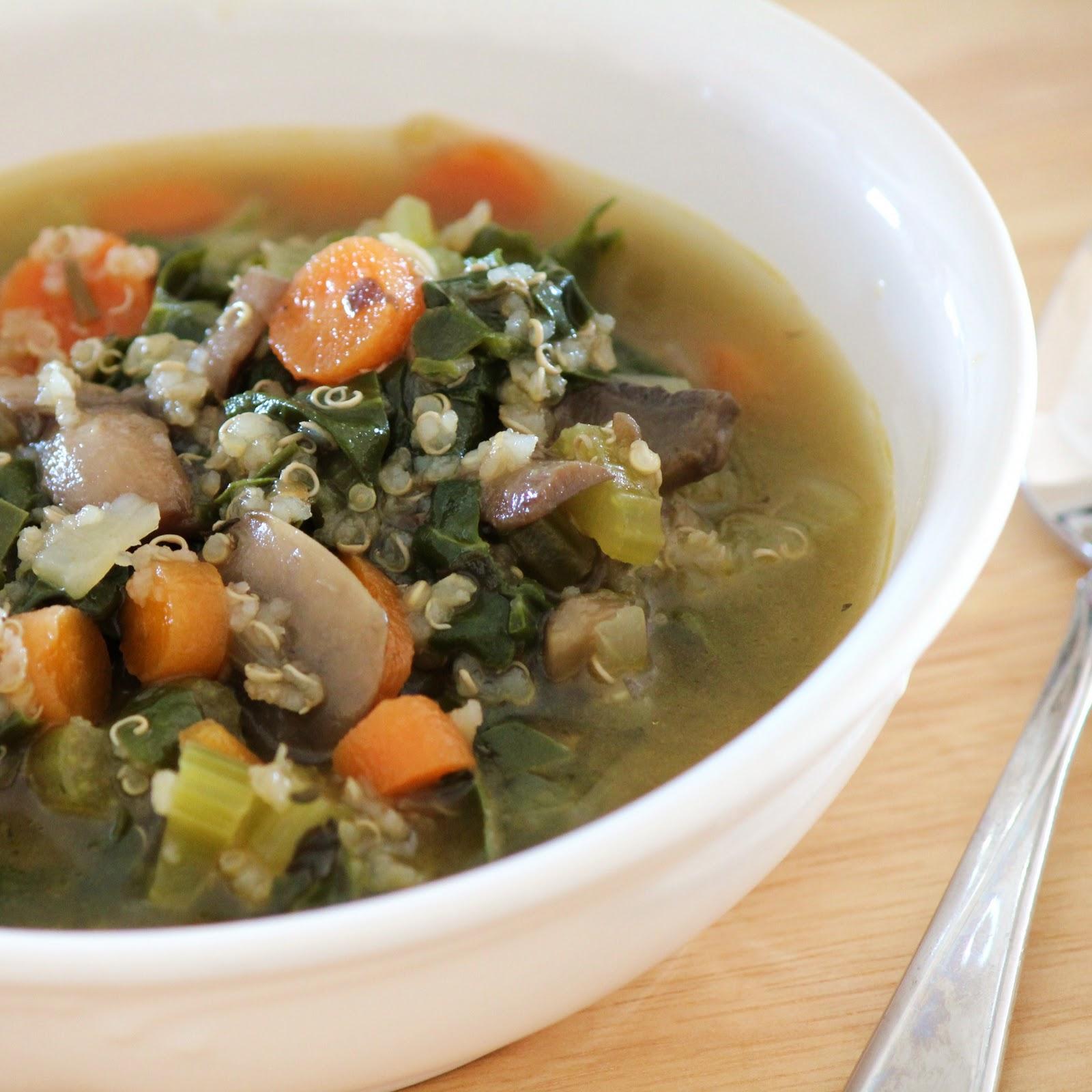 ... soup thick vegetable soup vegetable farro soup quinoa vegetable soup